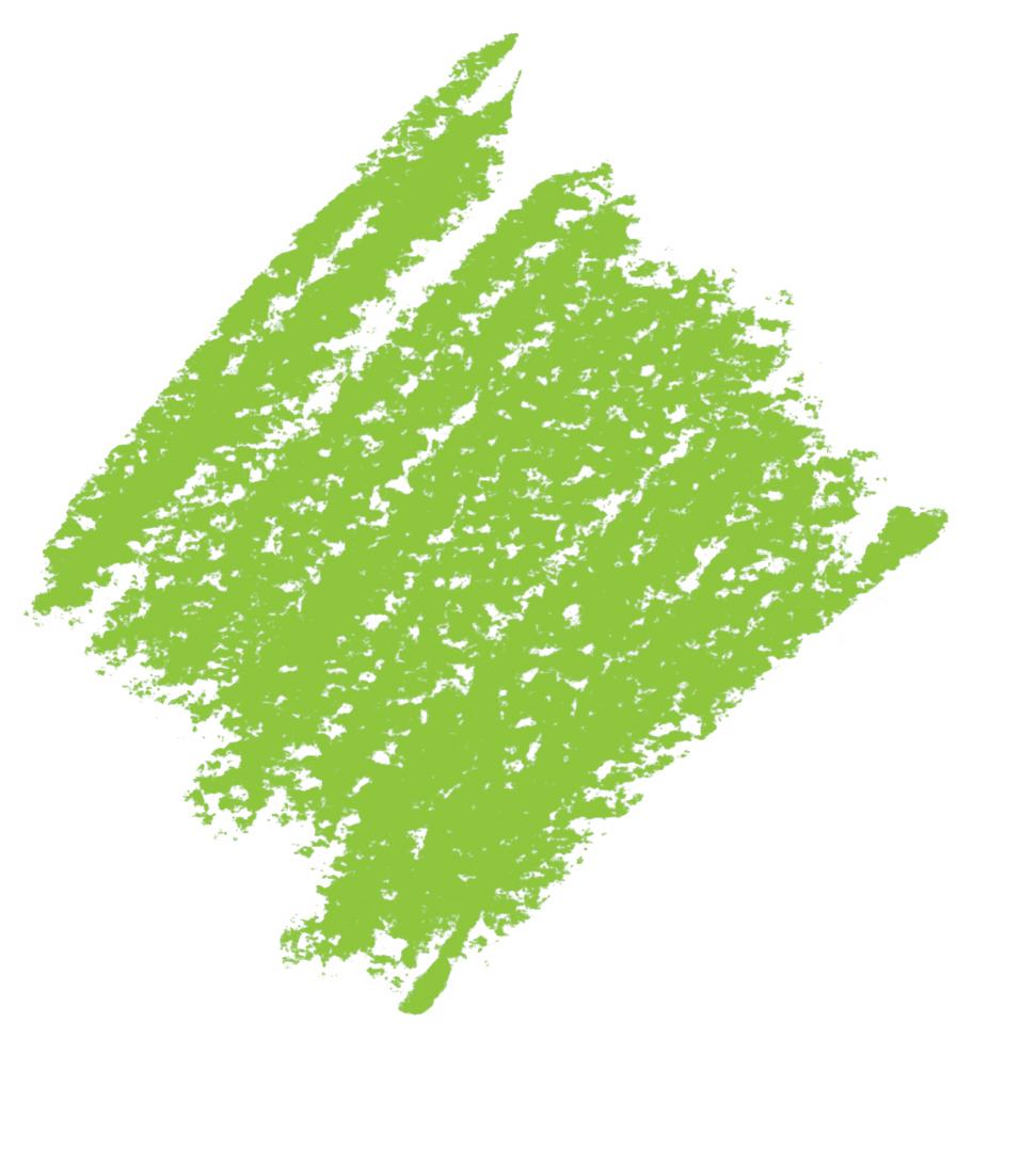 Crayonné vert bis transparent